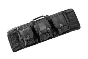 Кейс оружейный ARCHER 115см с тремя подсумками Black WS23446B