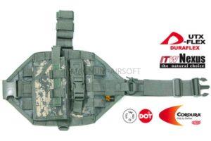 КОБУРА ТАКТИЧЕСКАЯ НА ПЛАТФОРМЕ MOLLE С ПОДСУМКОМ GUARDER H-05C(ACU)