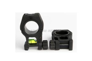 Кольца на RIS 25/30mm c уровнем AS-OR0063B