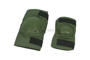 Комплект наколенники и налокотники SWAT Green WS20155G