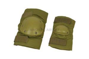 Комплект наколенники и налокотники SWAT Tan WS20155T