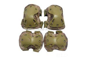 Комплект наколенники и налокотники SWAT X-Cap Banshee AS-PG0021BSE
