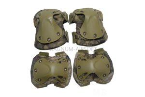 Комплект наколенники и налокотники SWAT X-Cap Highlander AS-PG0021HLD