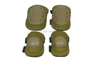 Комплект наколенники и налокотники Tan WS20153T AS-PG0022T