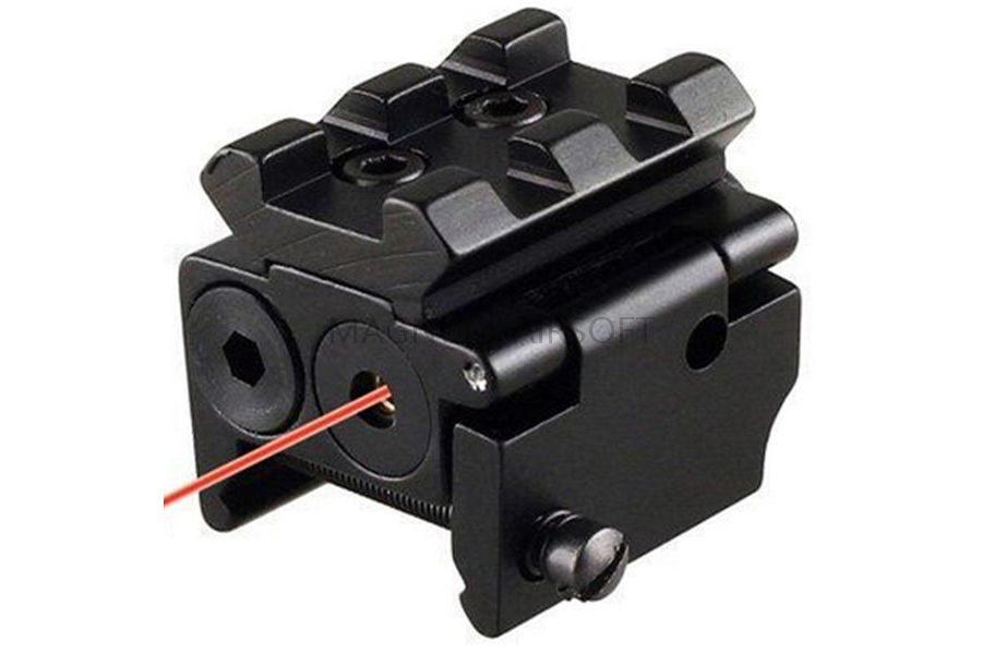 Лазерный целеуказатель Tactical Compact Red с креплением на RIS AS-LA0037