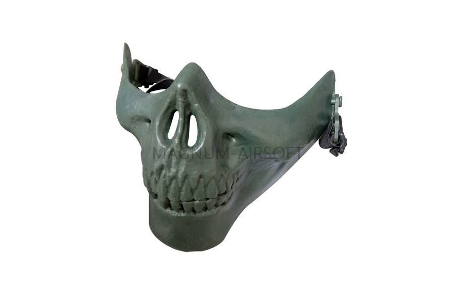 Маска на нижнюю часть лица Skeleton AS-MS0014OD