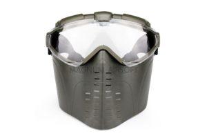 Маска на все лицо с вентиляцией Olive AS-MS0006OD