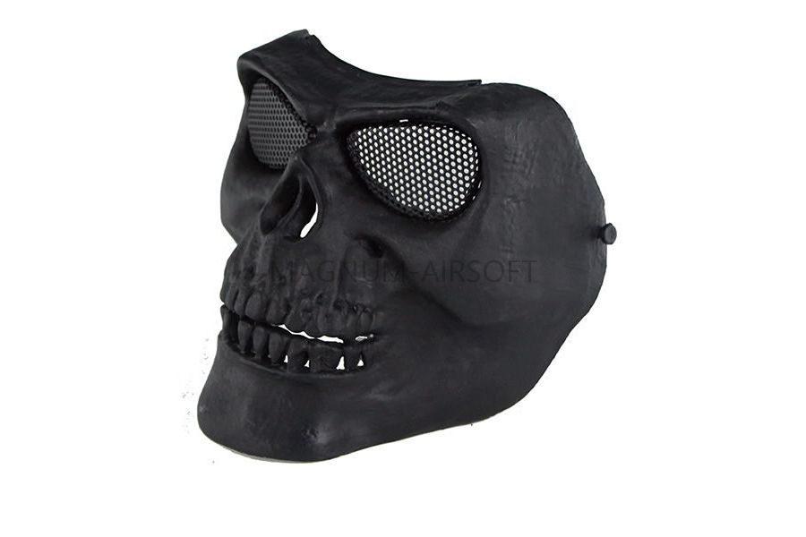 Маска на все лицо Skeleton V2 с сетчатыми очками AS-MS0015B
