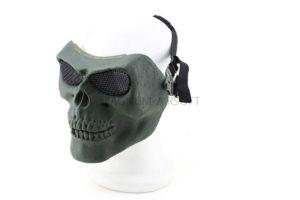 Маска на все лицо Skeleton V2 с сетчатыми очками AS-MS0015OD