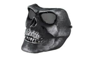 Маска на все лицо Skeleton V2 с сетчатыми очками AS-MS0015SG