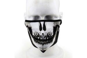 Маска неопреновая на нижнюю часть лица Skull AS-MS0020