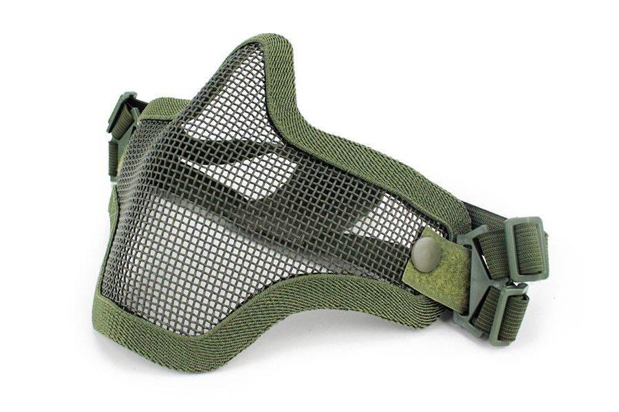 Маска сетчатая на нижнюю часть лица Tactical V1 AS-MS0001OD