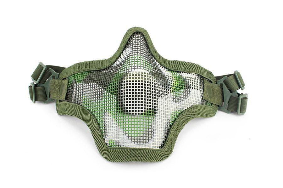 Маска сетчатая на нижнюю часть лица Tactical V1 AS-MS0001W