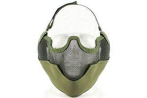 Маска сетчатая на нижнюю часть лица Tactical V2 AS-MS0002OD