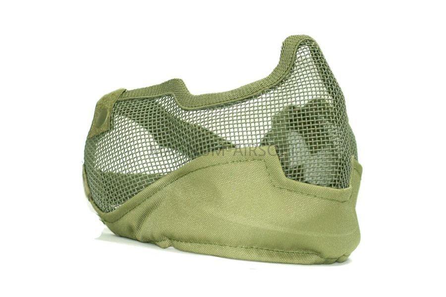 Маска защитная с ушами Green