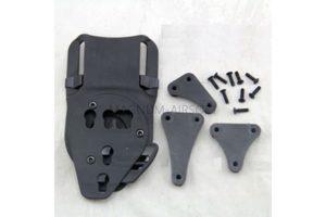 НАБОР АДАПТЕРОВ для подвеса пластиковых кобур и ножен на ремни и molle код AS-HL0018B