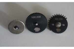 Набор шестерней 3mm Steel CNC Gear Set 100:200 ZCAIRSOFT CL-05