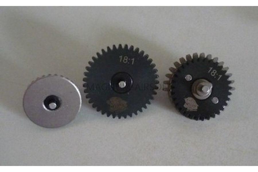 Набор шестерней SR25 CNC Gear Set 18:1 ZCAIRSOFT CL-36