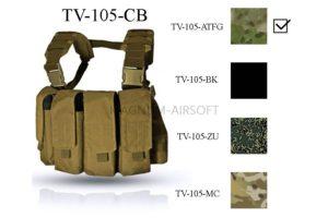 Нагрудная разгрузочная система Chest Rig MK 2 ТV--105-ATFG  ATACS-FG оригинальная ткань и стропа ВЕКТОР WARTECH