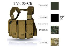 Нагрудная разгрузочная система Chest Rig MK 2 ТV--105-ВК ВЕКТОР WARTECH