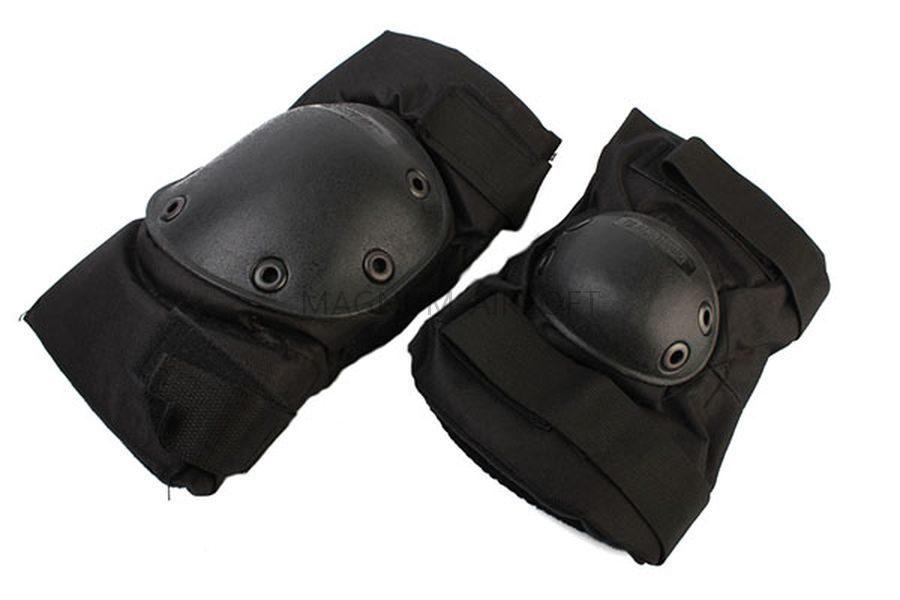 Наколенники+налокотники SWAT Black