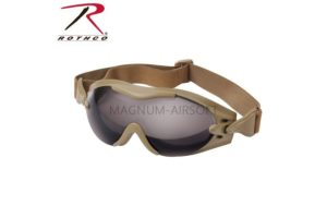 Очки SWAT Tec Single Lens Tactical COYOTE код ROTHCO 11397
