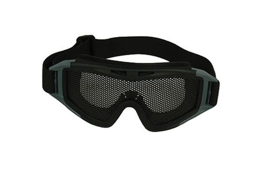 Очки тактические сетка металлическая (BLACK) AS-GG0016B