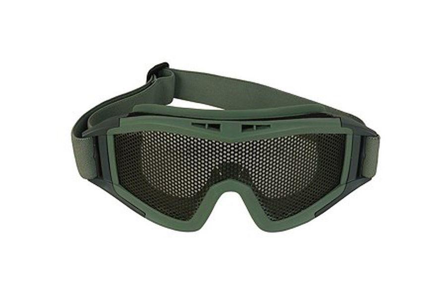Очки тактические сетка металлическая (GREEN) AS-GG0016OD