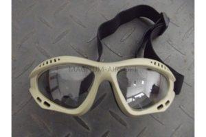 Очки защитные Airsoft Paintball Tan WS20934T