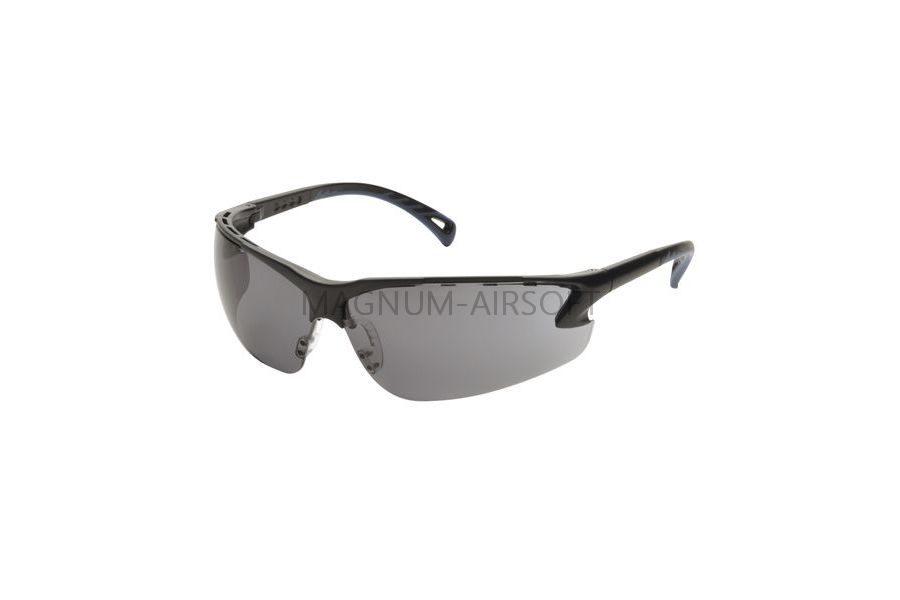 Очки защитные ASG регулируемые дужки (Black) - 17007