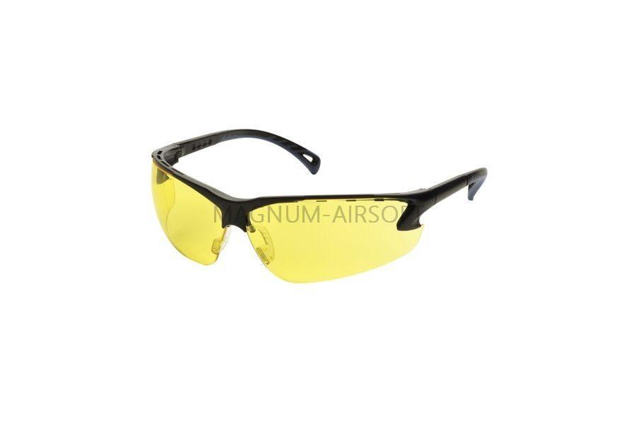 Очки защитные ASG регулируемые дужки (Yellow) - 17005