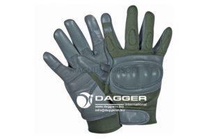 Перчатки Hard Knuckle Assault Green & Gray size XL код DAGGER DI-1206