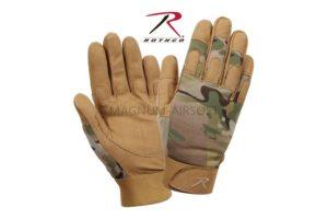 Перчатки LIGHTWEIGHT ALL PURPOSE DUTY MULTICAM size M код ROTHCO 4426