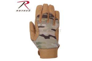 Перчатки MILITARY MECHANICS - MULTICAM size M код ROTHCO 4434