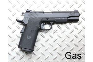 Пистолет KJW COLT M1911 GBB, GAS, черный, металл, модель - KP-11.GAS