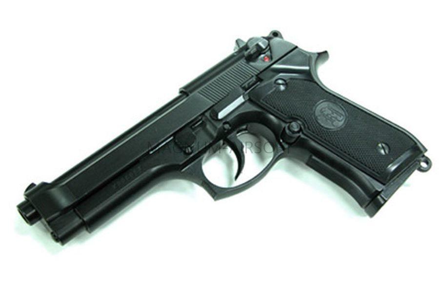 Пистолет KJW M9 GBB, GAS, черный, металл, модель - M9.GAS GP305