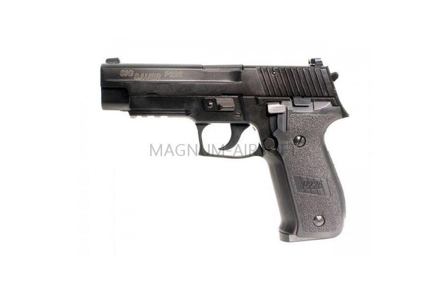 Пистолет KJW P226 E2 GBB, GAS, черный, металл, KP-01-E2.GAS