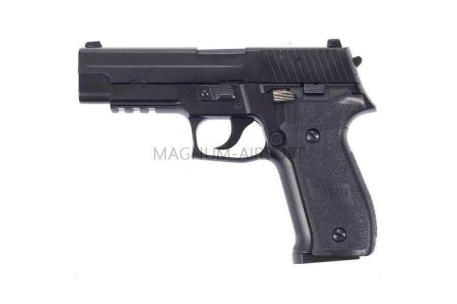 Пистолет KJW P226 KJW GBB, черный, металл, KP-01.CO2