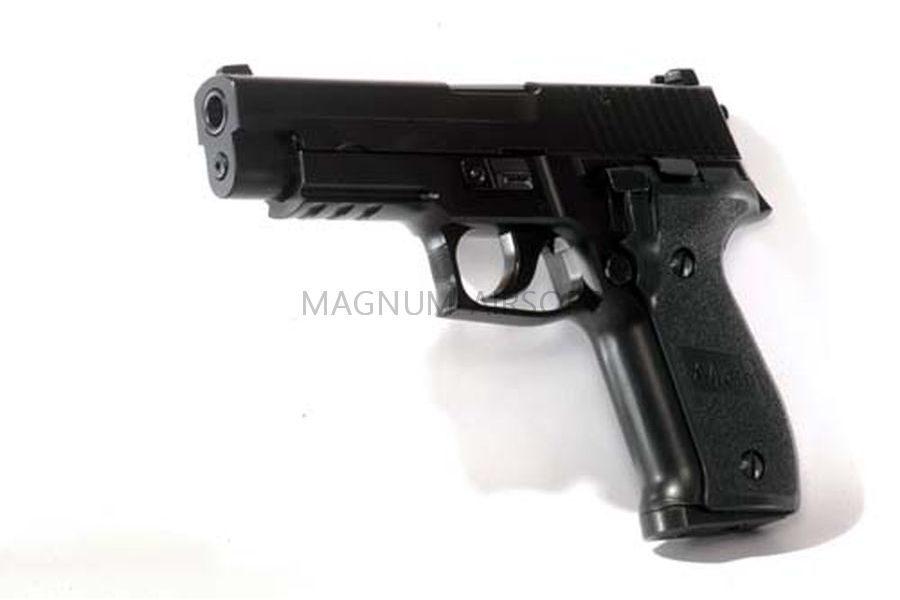 Пистолет KJW P226 KJW GBB, черный, металл, KP-01.GAS GP404
