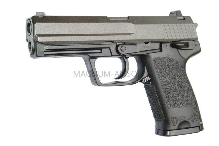 Пистолет KJW USP COMPACT GBB, черный, HW металл, HU, GP415