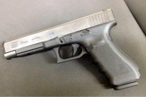 Пистолет WE GLOCK-34 gen3, металл слайд, хромированный, WE-G008A-SV