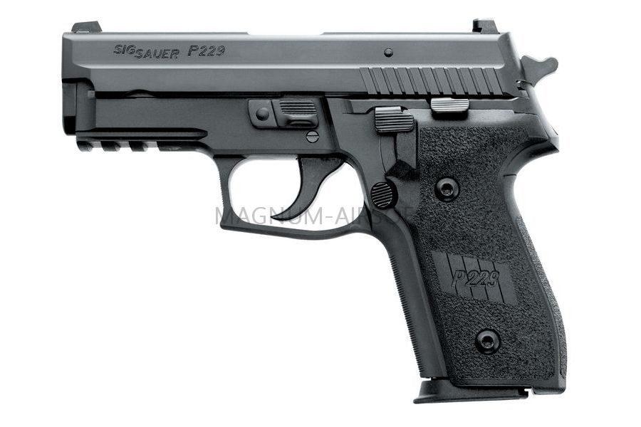 Пистолет WE SIG SAUER P-229, металл, рельса, WE-F005A-BK / GP429
