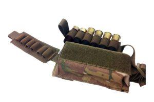 Подсумок для 12 калибра вытяжной липучка -  МР-115-MC - мультикам  ВЕКТОР WARTECH