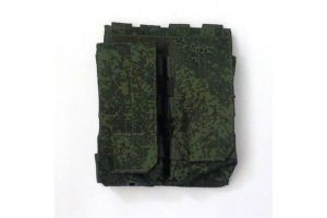 Подсумок под 2 маг АК/М серия клапан/резинка  МР-116- ZU -ЗДУ  ВЕКТОР WARTECH