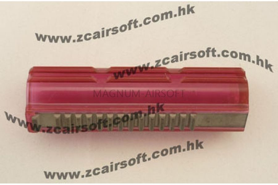 Поршень полнозубый  (розовый) High Speed, ВСЕ МЕТАЛЛИЧЕСКИЕ ЗУБЬЯ (PM) ZCAIRSOFT M-65