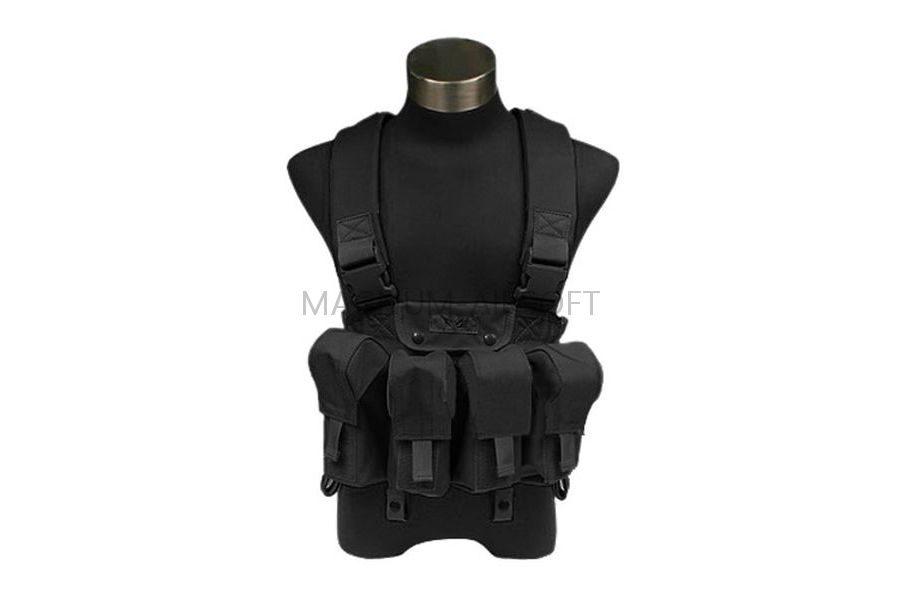 Разгрузка нагрудная LBT AK Tactical Chest Vest(Black) код FLYYE FY-VT-C006-BK