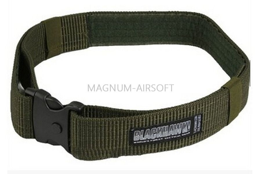 Ремень BlackHawk Airsoft Military Tactical Duty Green код WS23415G
