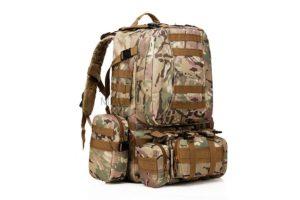 Рюкзак 50L Molle Assault Tactical Light Version 55x35x25cm AS-BS0051CP