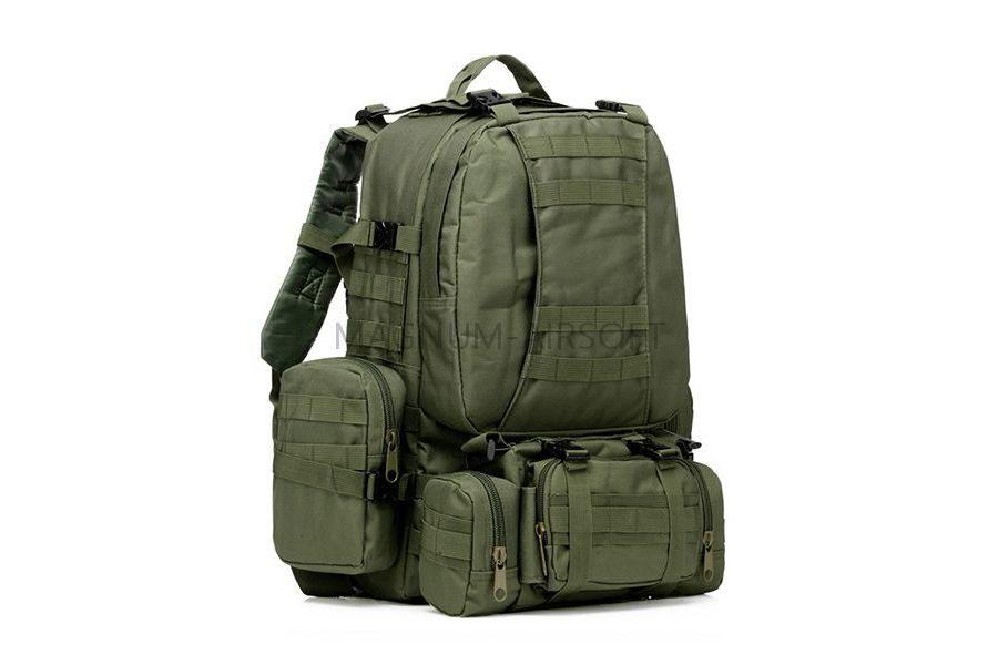 Рюкзак 50L Molle Assault Tactical Light Version 55x35x25cm AS-BS0051OD