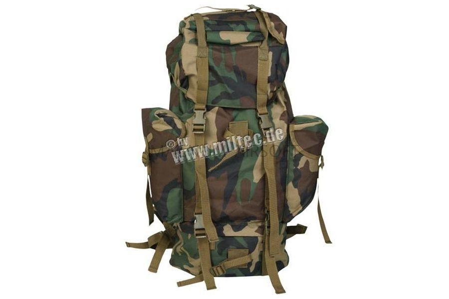 Рюкзак Bundeswehr 65 литров, WOODLAND, код sturm 14023020
